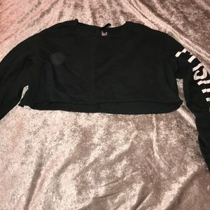 Divided (H&M) long sleeve crop top